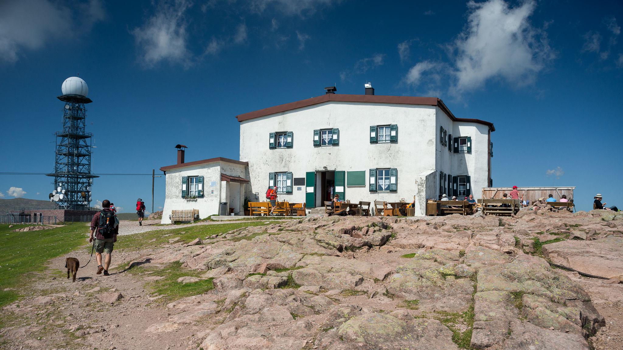 Das Rittner Horn Haus auf 2260 Metern