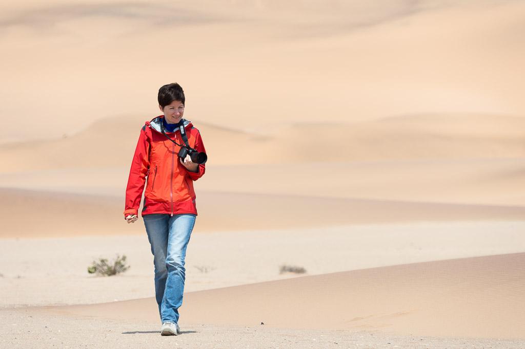 Portrait Ira Namibwüste